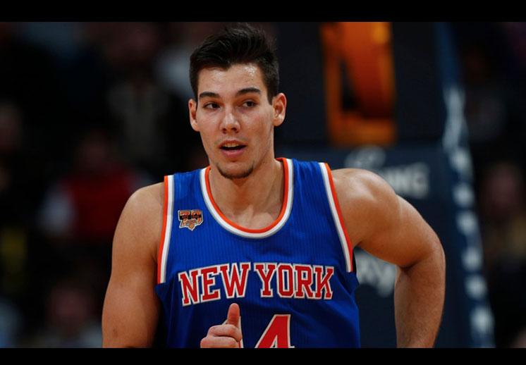 Willy Hernangomez, olvidado en banquillo de los Knicks