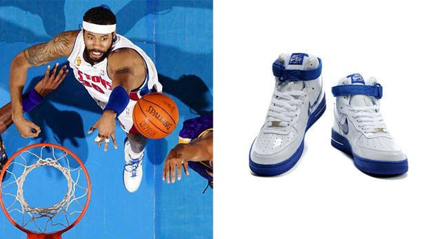 Rasheed Wallace - Detroit Pistons