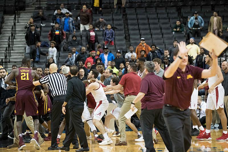 El loco juego entre Alabama y Minnesota en la NCAA
