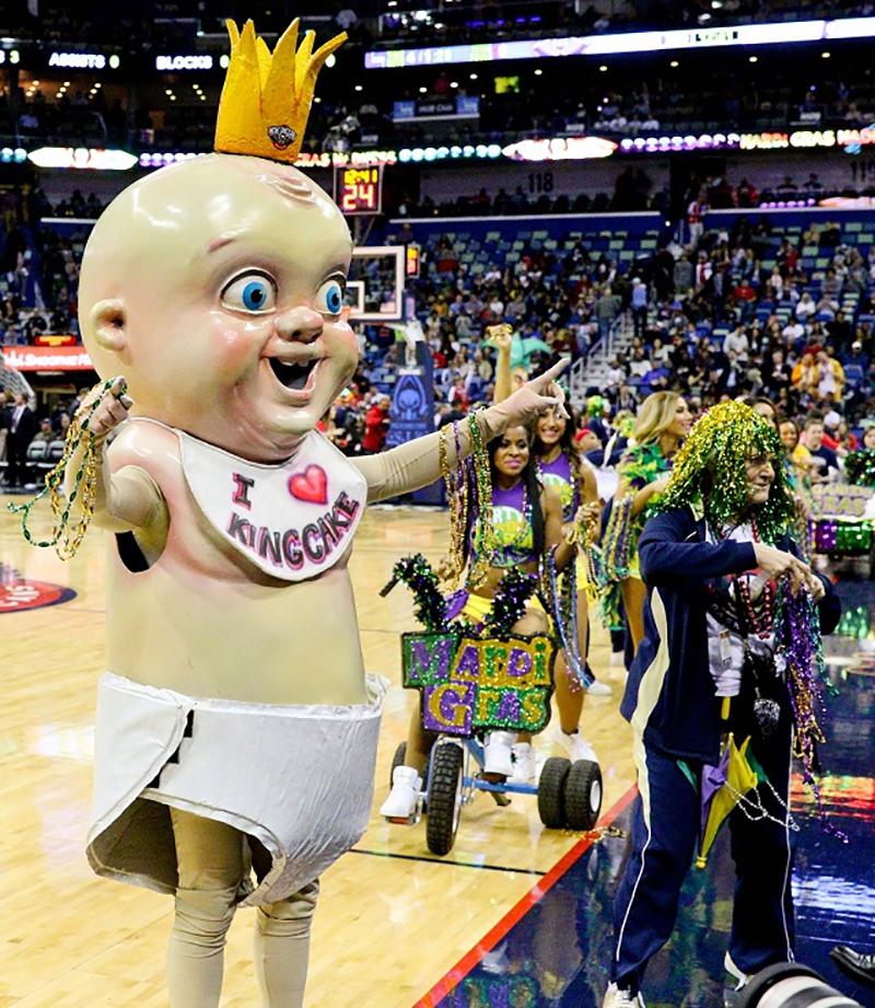 King Cake Baby – Pelicans de New Orleans