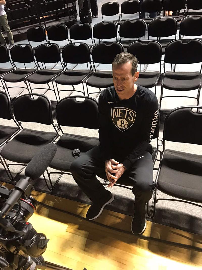 Una charla con el Coach Kenny Atkinson