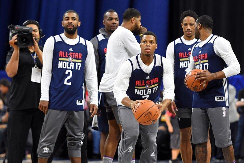 A punto de arrancar las votaciones para el NBA All-Star Game 2018