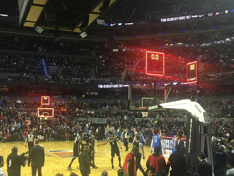 Noche de NBA en la CDMX