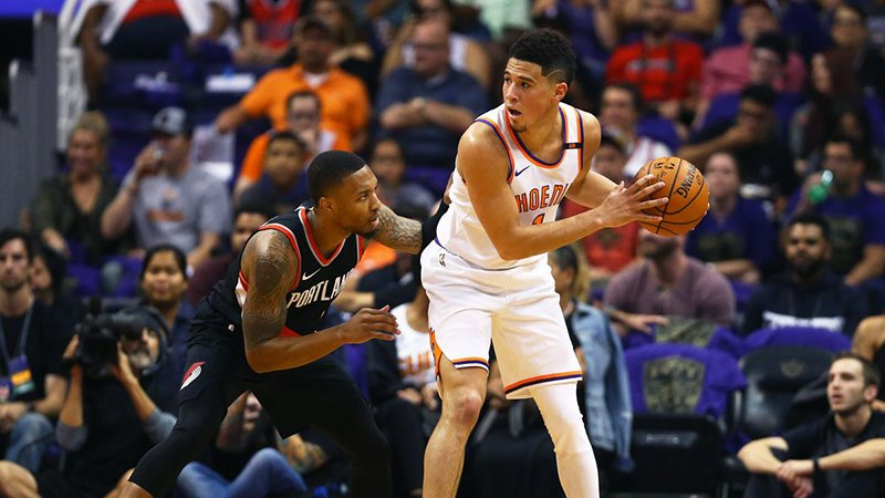 Devin Booker no pudo salvar a los Suns