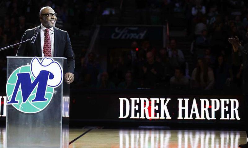 Derek Harper se convirtió en leyenda