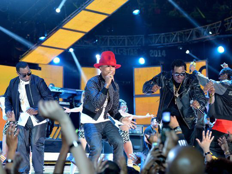 Pharrell Williams y Kevin Hart animarán la fiesta en Los Angeles
