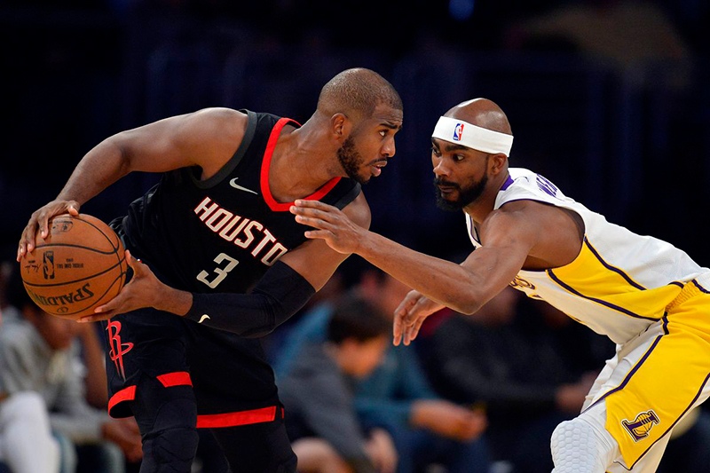 Chris Paul rescató a los Rockets
