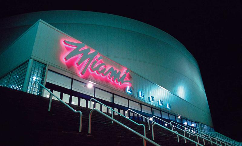 Miami se pintó de neón