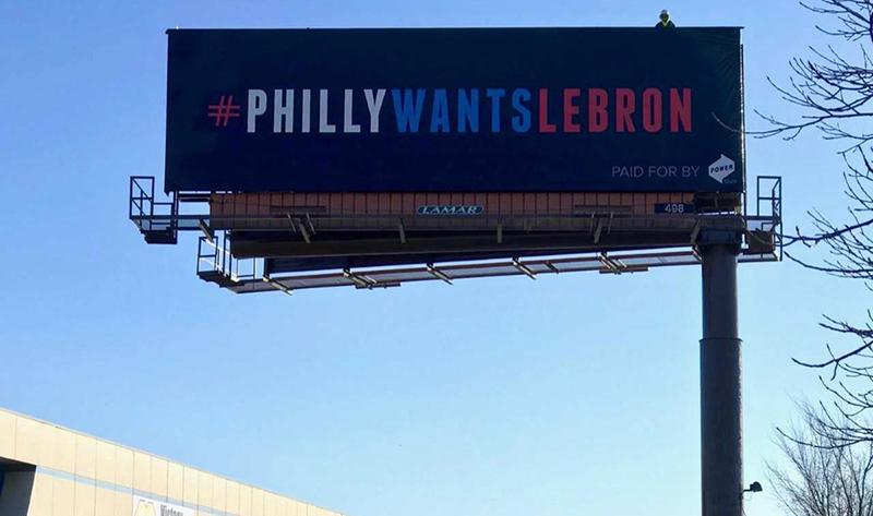 En Filadelfia sueñan con LeBron James