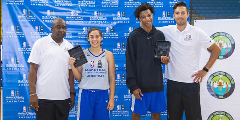 El turno de las chicas en la NBA Academy