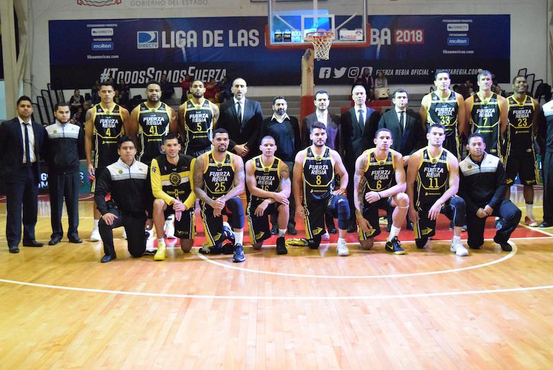 Libertadores sorprendió a Fuerza Regia