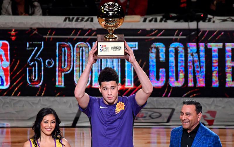 La noche de los habilidosos en la NBA