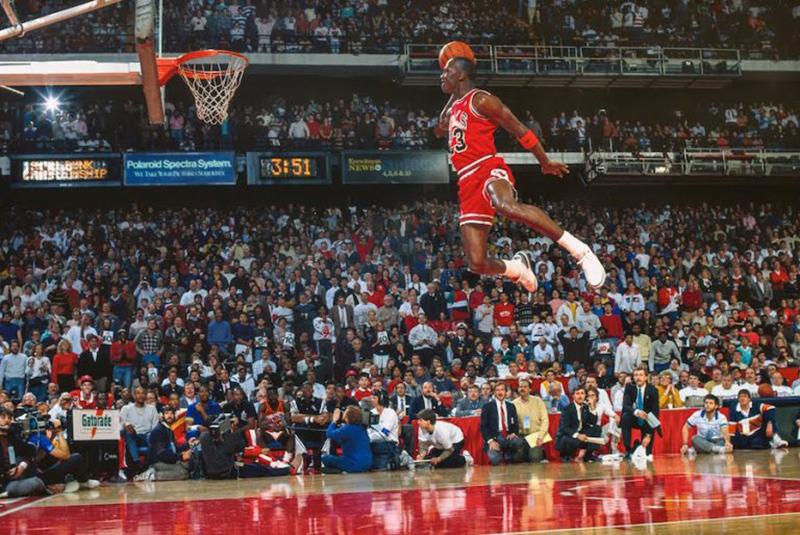 A 30 años del vuelo de Jordan