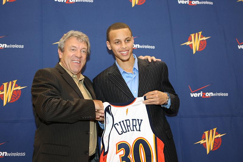 Jugadores drafteados con Curry