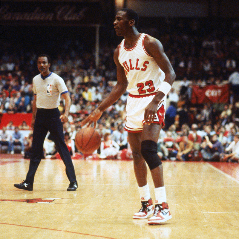 El debut de Jordan con los Bulls