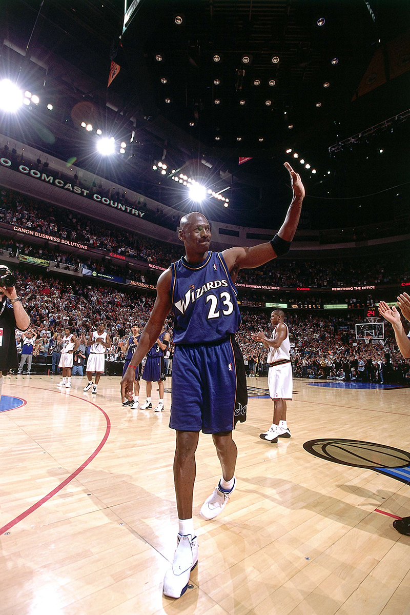 El paso de Michael Jordan por Washington