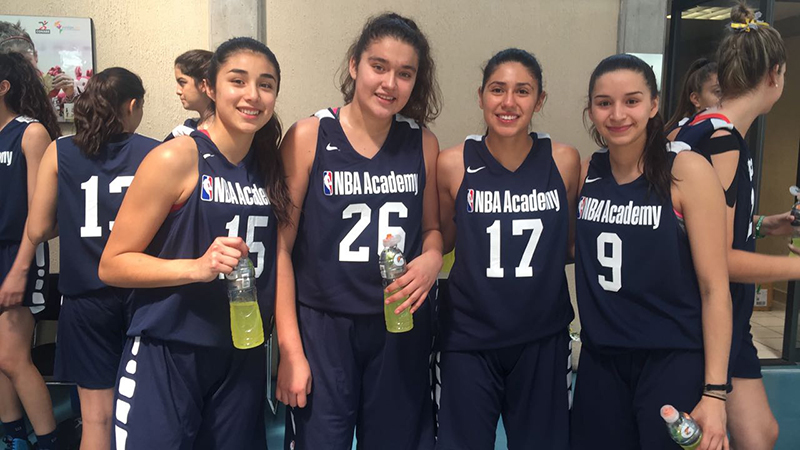 En marcha el Women's Program de NBA Academy