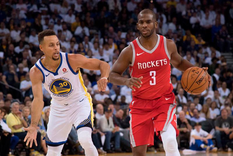 Warriors y Rockets encabezan las apuestas