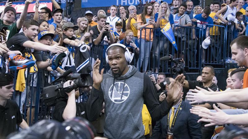 Kevin Durant entre los más influyentes