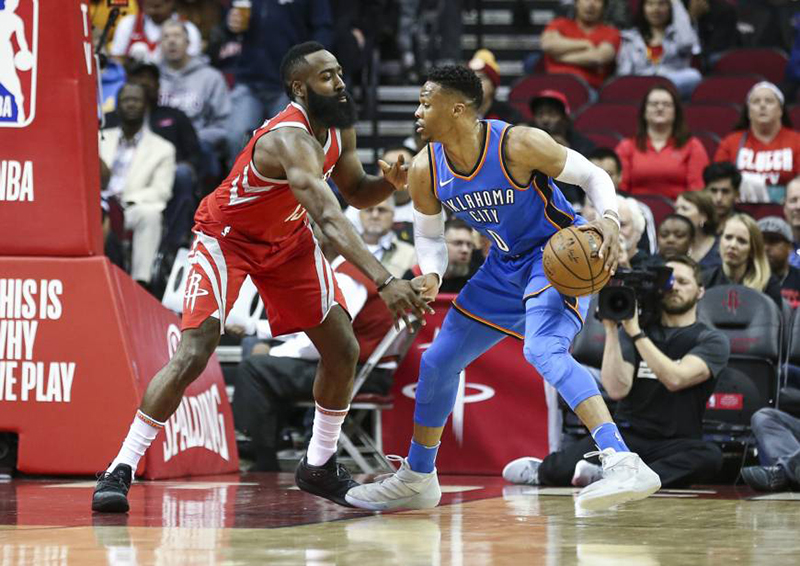 El Thunder mostró su poder a los Rockets foto 2