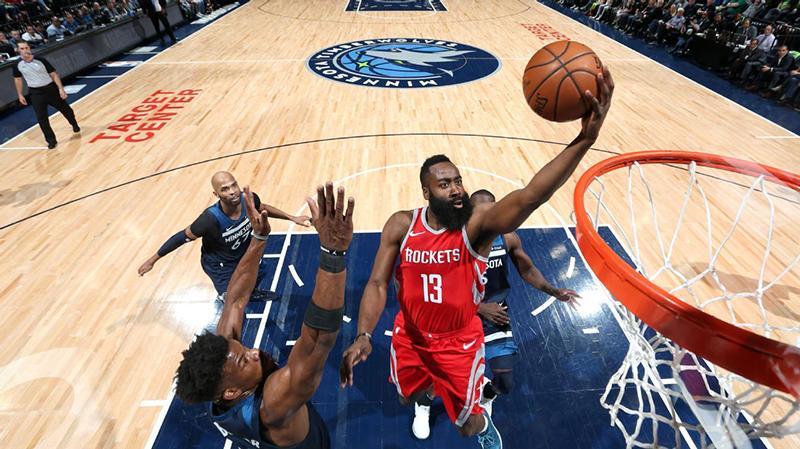 Los Rockets demostraron su poderío ofensivo