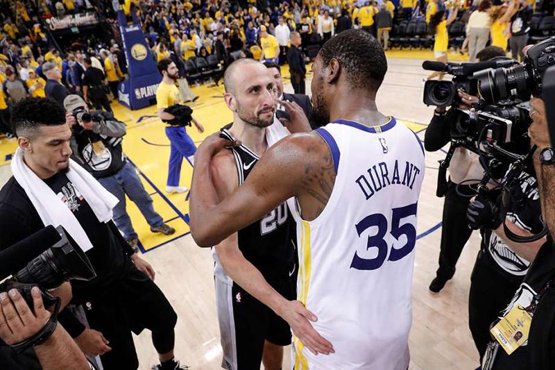 Amargo adiós para los Spurs