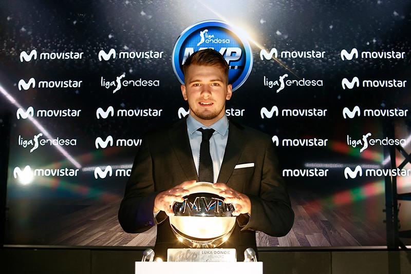 Luka Doncic es el MVP de la Liga Endesa