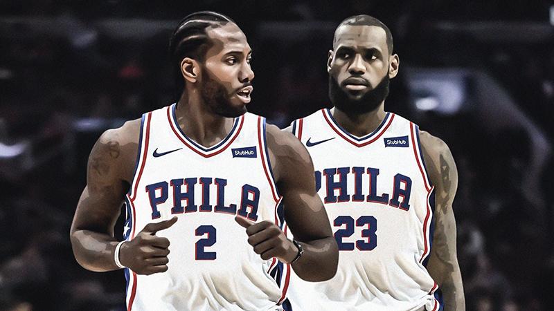 Los 76ers piensan en grande