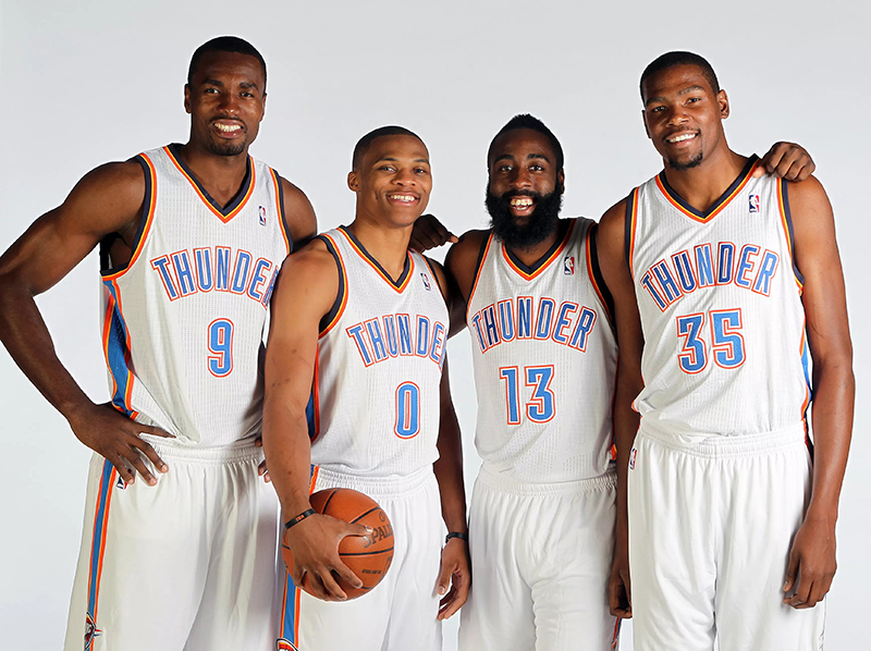 ¿Qué pasó con el Thunder del 2012?