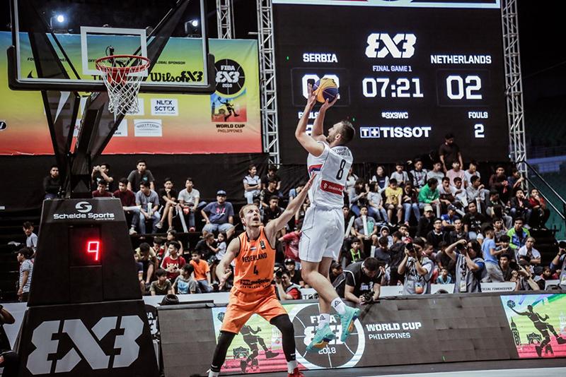 Serbia e Italia los reyes del FIBA 3x3