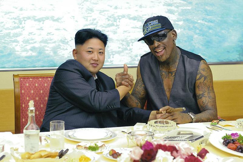 Dennis Rodman llora por Corea del Norte