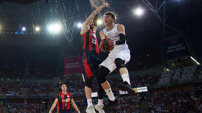 Luka Doncic quiere despedirse del Madrid con un campeonato