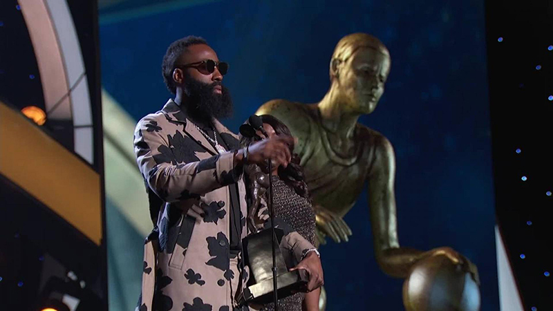 James Harden, La Barba de oro