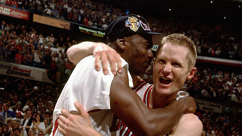 Steve Kerr, el héroe sin capa de los Bulls
