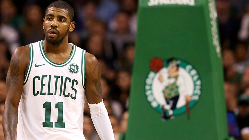 Kyrie Irving puso a temblar a los Celtics