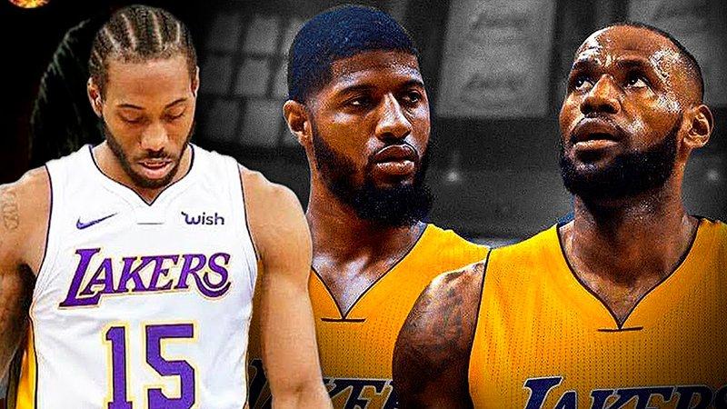 Los Lakers quieren volver a armar un súper equipo