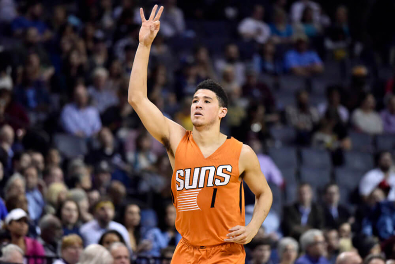 Devin Booker y los Suns una historia para largo