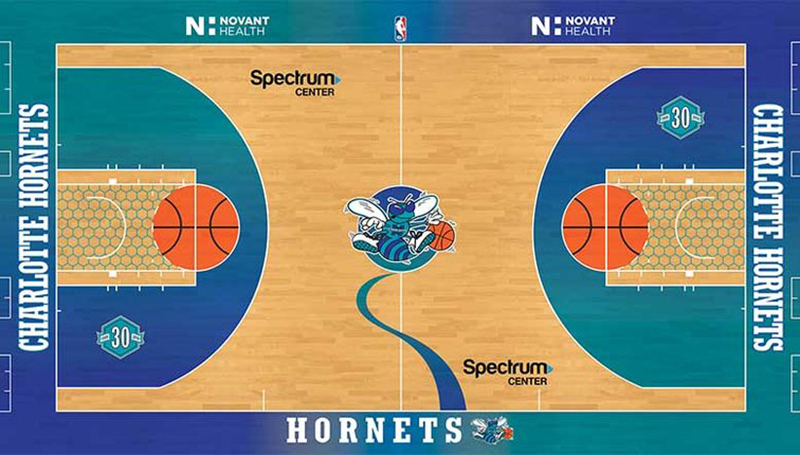 Los Hornets se lucirán con duela retro