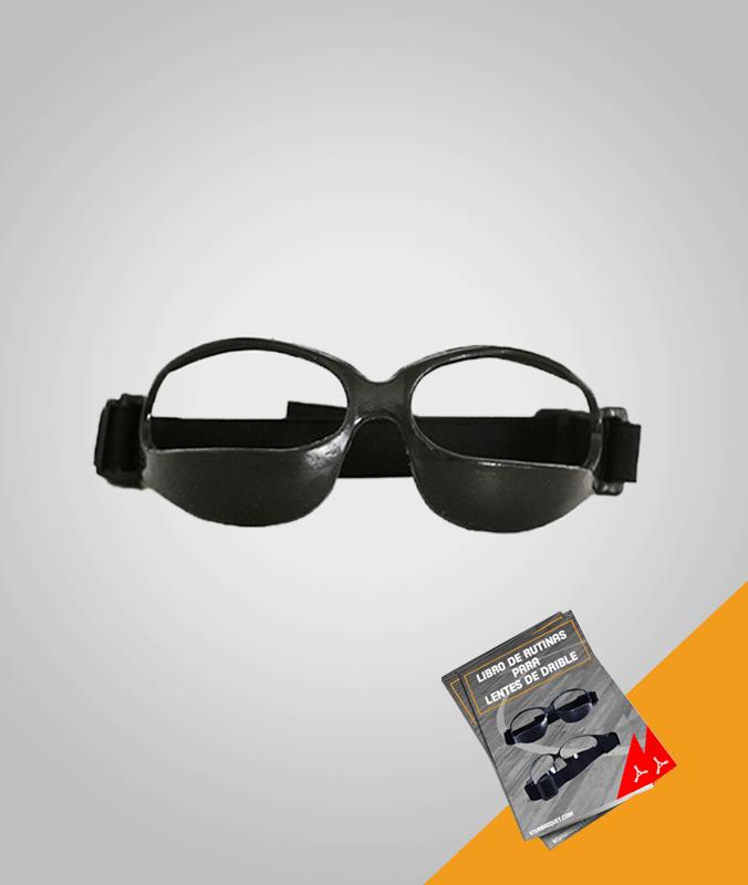 Lentes de Drible. El diseño de estos lentes, ayuda a los jugadores a realizar el regate y manejar el balón sin tener que mirar hacia abajo