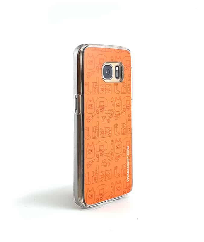 f08fafed1fc Funda para celular con diseño modular de basquetbol hecho por viva basquet,  compralo en linea