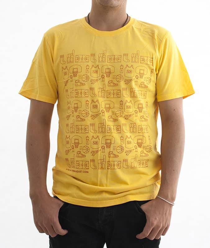 playera a la venta en la tienda de viva basquet, diseños unicos y novedosos