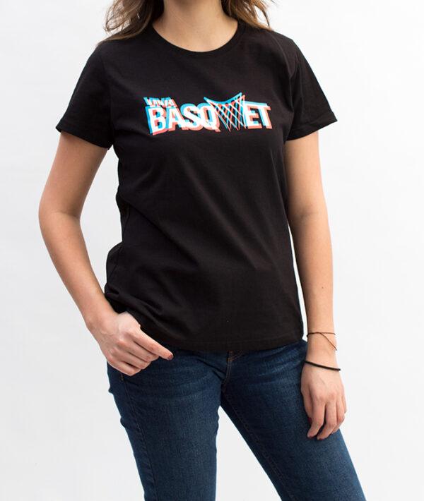 Playera: Viva Basquet 3D