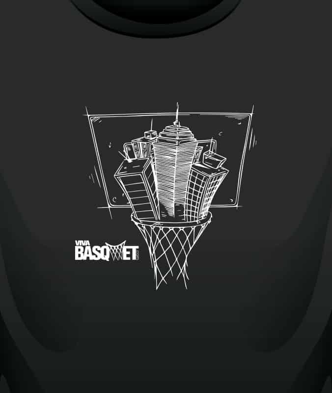 Playera: Ciudad de Basquetbol