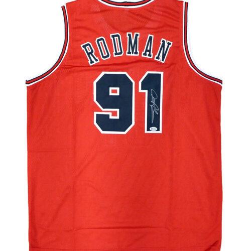 Jersey Bulls original firmado por Dennis Rodman