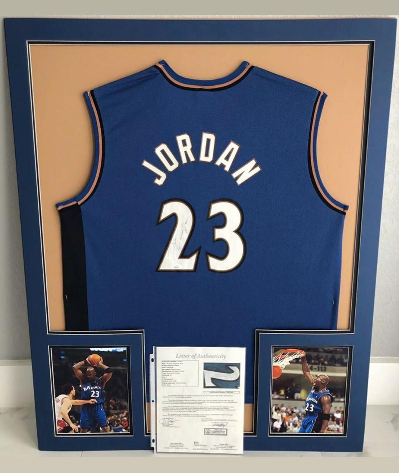 Jersey Wizards original firmado por Michael Jordan
