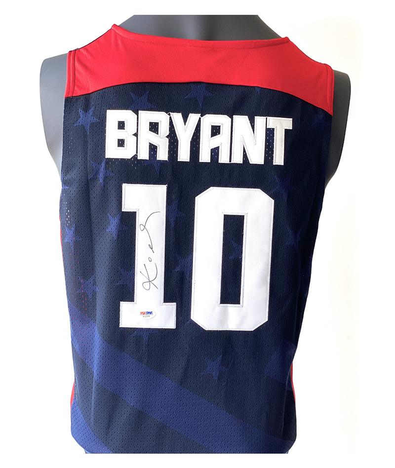 Jerey original USA firmado por Kobe Bryant