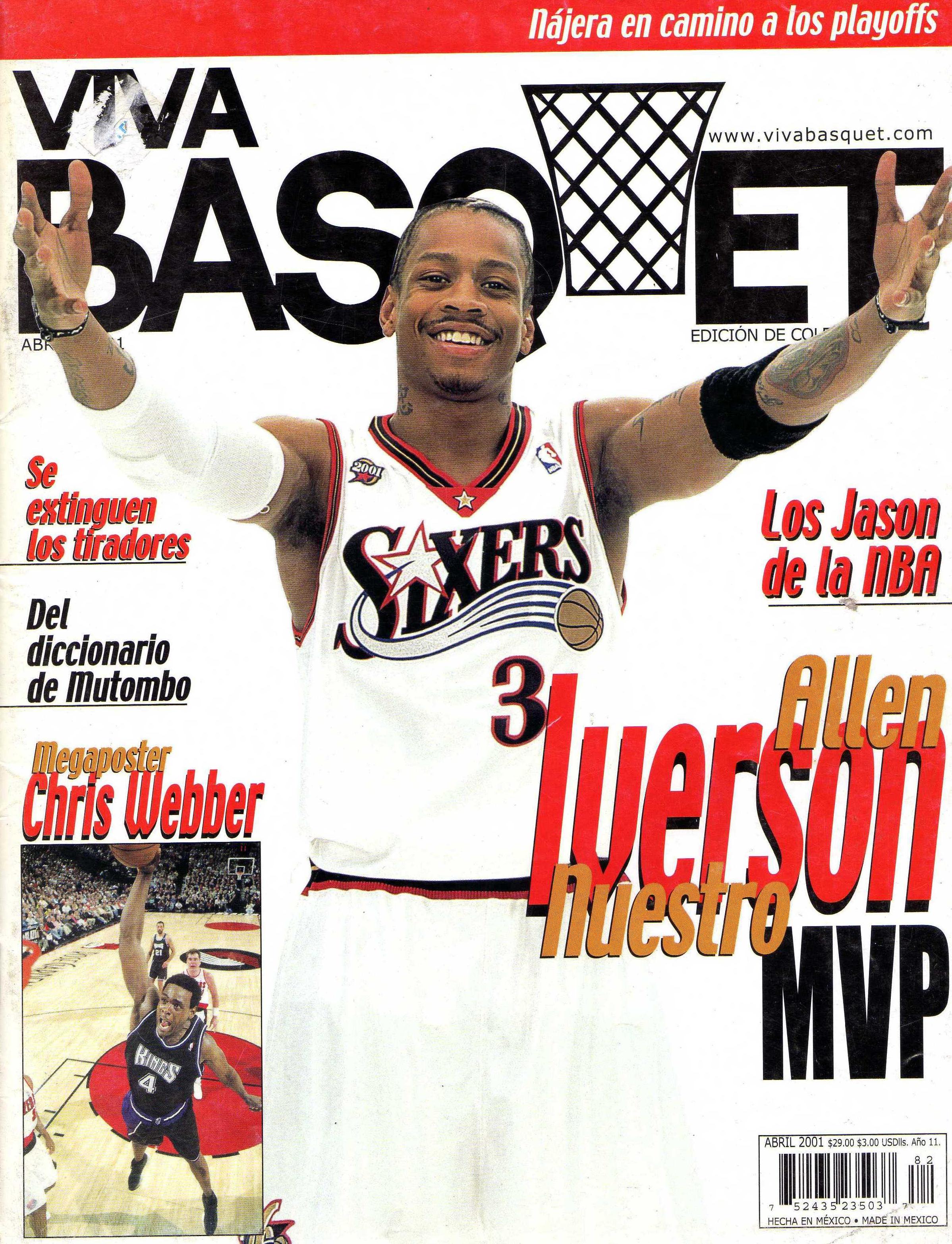 IVERSON Viva Basquet jugador de basquetbol