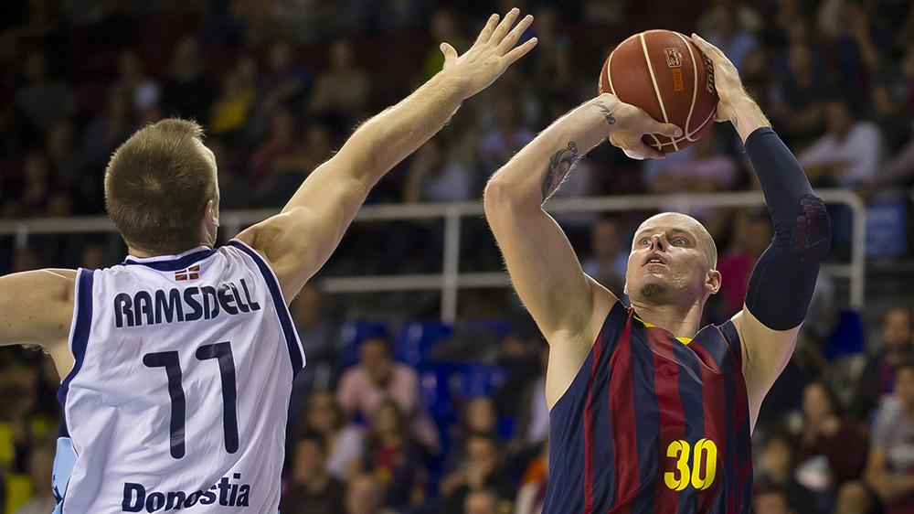 FCB vs Guipuzcoa en viva basquet