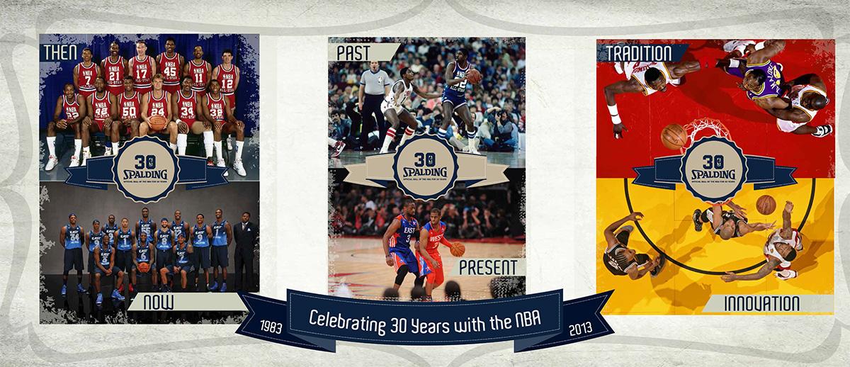 30 años siendo el balon oficial de la nba. basquetbol