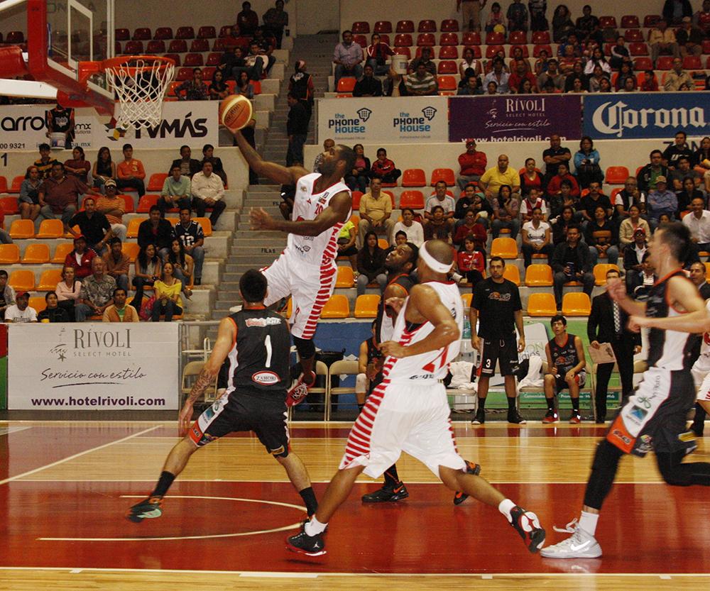 HALCONES ROJOS VS SOLES en viva basquet
